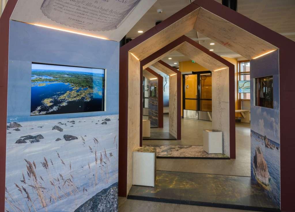 Maailmanperintöportissa voit tutustua Merenkurkun saaristoon.