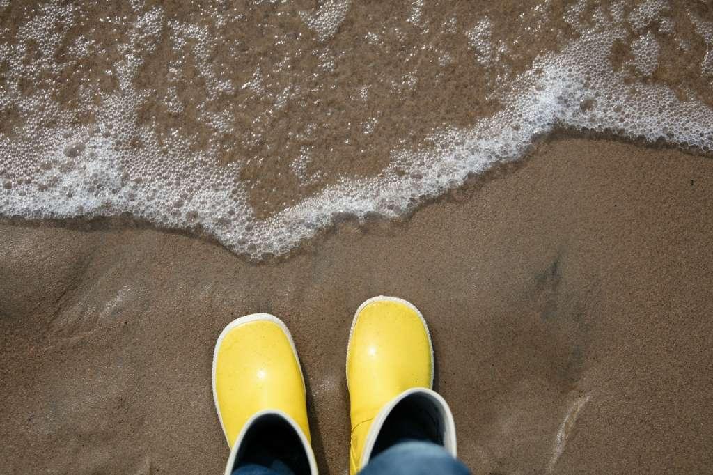 Meri ja kumisaappaat