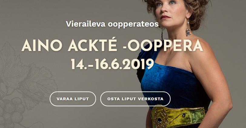 Aino Ackté -ooppera