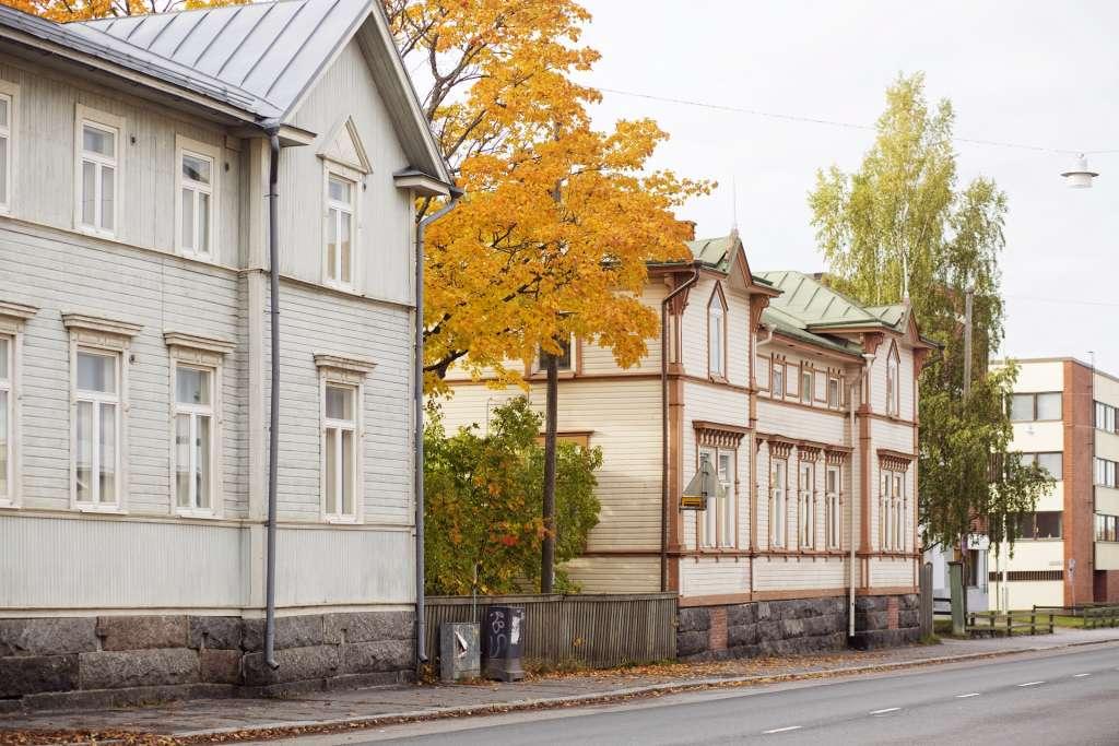 Katunäkymä Vaasassa