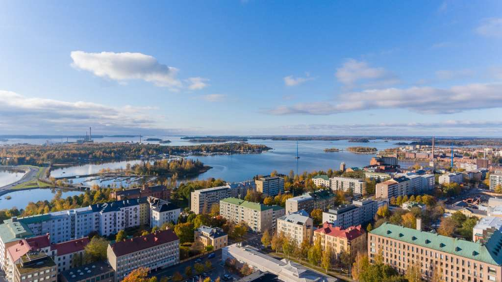 Flygfoto av Vasa
