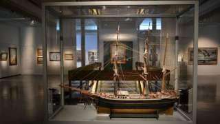 Utställningen Havet tar, havet ger i Österbottens museum
