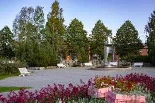 Parken vid Brändö torg