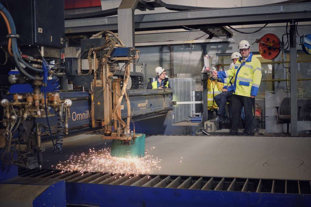 Wasaline steel cutting -seremonia 16.9.2019