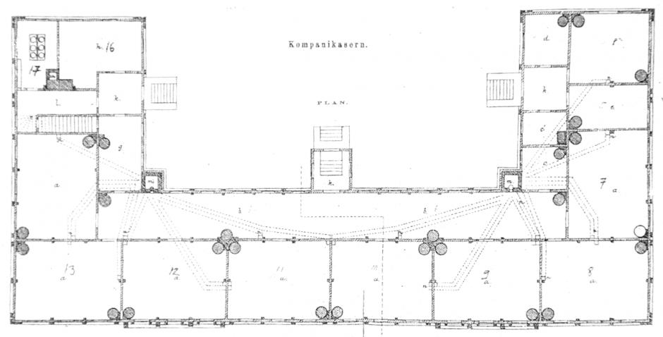 Kasermi 11 vanhan pohjapiiros