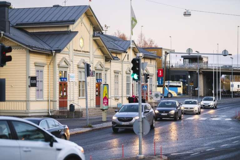 järnvägsstation