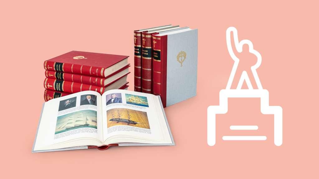 Vaasan historia kirjat