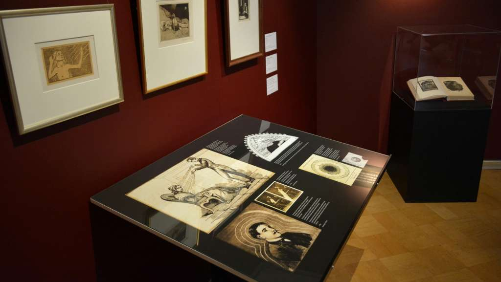 Tikanojan taidekodin Sielun silmä -näyttely, kuva: Marcus Lerviks