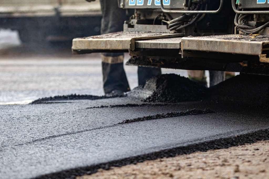asfalt site
