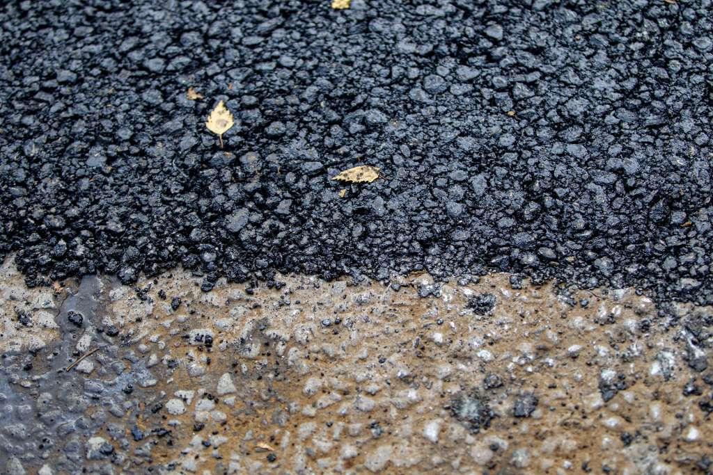 Ny asfalt