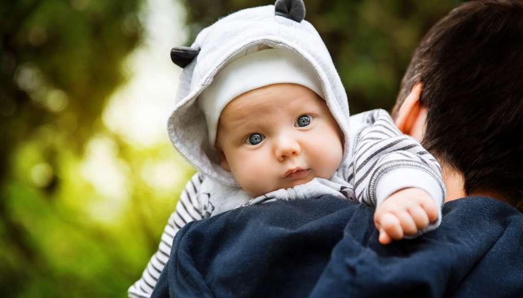 Vauva ja isä