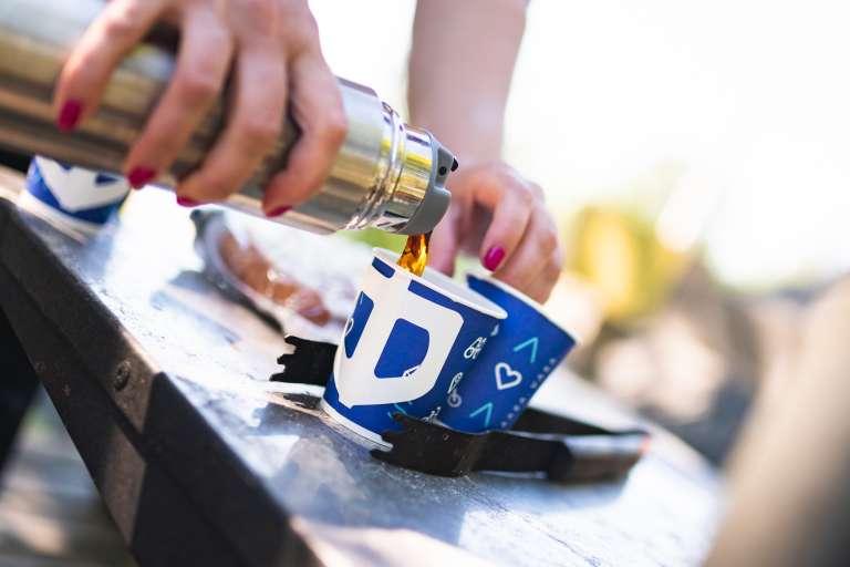 Kahvi ja kupit