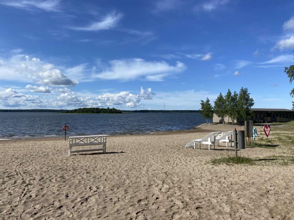 Kustaanlinnan uimaranta