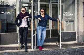 Seppo Välinen ja Ann-Luise Bertell | Vaasan kaupunginteatteri