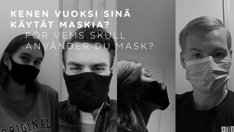 Maskför kampanjen för unga
