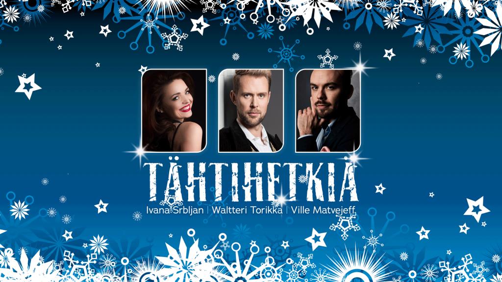Tähtihetkiä-konsertti   Vaasan kaupunginteatteri
